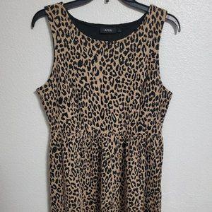 Apt. 9 Animal Print Fit & Flare Dress.